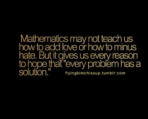 Math Quotes - Becky Metzger